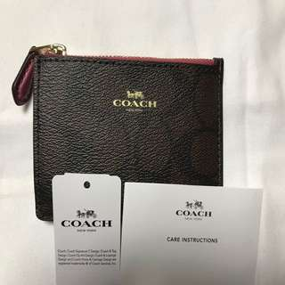 Coach 散紙+card holder