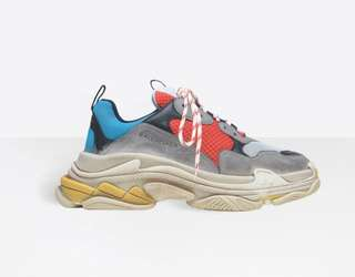 Want to buy triples blue red size 41
