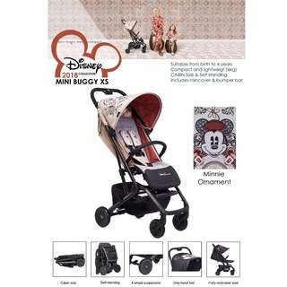 NEW MODEL 2018 COLLECTIONS  -  Easywalker Mini Buggy XS Disney collections