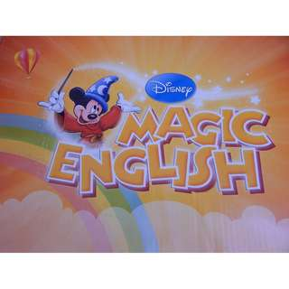 Disney Magic English 26 books and 26 DVDs