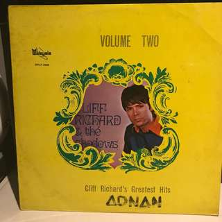 Cliff Richard and The Shadows Vol 2 (Malaysia Pressing)