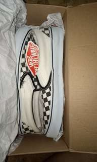 vans slip on chackerboard
