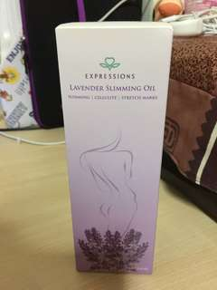 Brand New Expressions Lavender Slimming Oil (200ml)