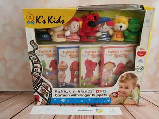 K's Kids DVD and Finger Puppets