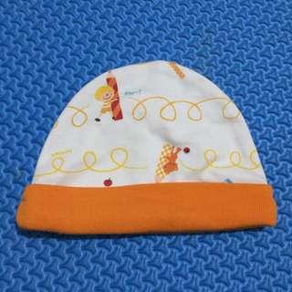 Topi bayi velvet junior
