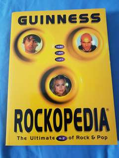 Guiness Rockopedia : The Ultimate A-Z of Rock & Pop