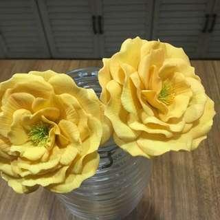 Cake Topper Gumpaste Roses