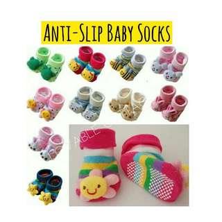 Baby anti-slip socks