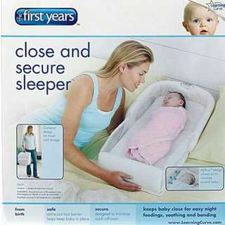 first years - close & secure sleeper
