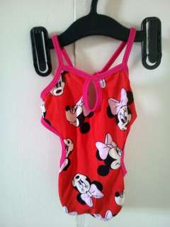Preloved Minnie Mouse Swimsuit