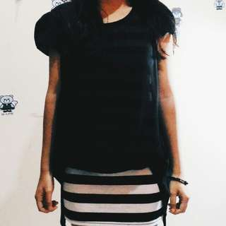 Dress Pendek Hitam