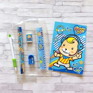 Kids stationery set | pens and pencil set | school set | kids gift