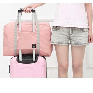 🚀現貨🚀旅行手提包 旅行袋 防水收納包 折疊旅行包 可套掛行李箱拉杆 購物袋 野餐包 購物包 隨身旅行袋