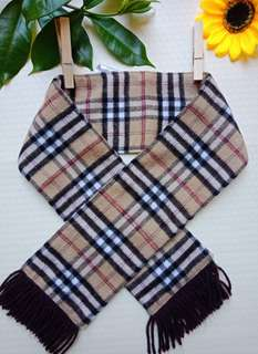 Brown Baby Scarf
