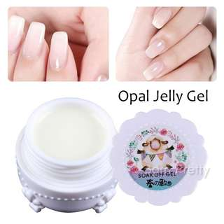 1 box spring of song opal jelly gel White saw Quo Manicure Nail Art UV Gel Polish