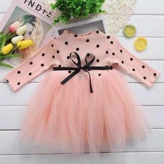 <Instock> Polka Dot Tulle Dress