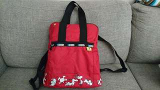 LeSportSac Snoopy Backpack