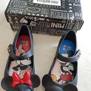 BNIB Authentic Mini Melissa Mickey Mouse Shoes EUR 27