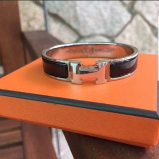 Authentic Hermes clic clac bracelet