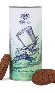 Whittard Mad Hatter Double Chocolate Chip Biscuits