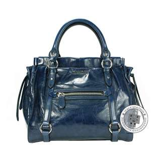 (NEW) MIU MIU RN0954 X72 VITELLO LUX SHOPPING CALFSKIN TOTE BAG SHW, BLUETTE / F0016 全新 手袋 藍色