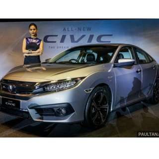 Honda Civic '18 Promotion