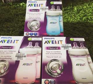 Avent Bottle (2feeding bottles 260ml/9oz)