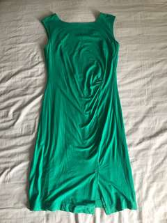 Green dress imported