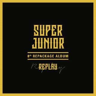 [Preorder] Super Junior Repackage Album-Replay (NORMAL EDITION)