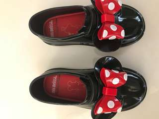 Little Melissa mickey shoes
