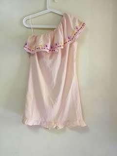Venus cut embroidered dress
