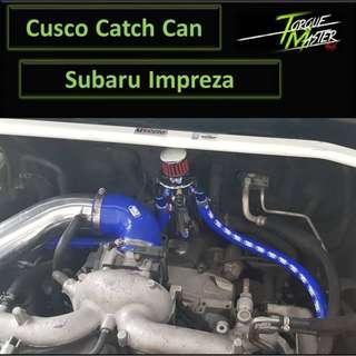 Subaru Impreza 1.5 5DR .Customize Cusco Oil Catch Can! Labour Available .