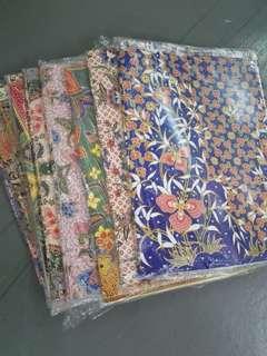Batik Wrapping Paper