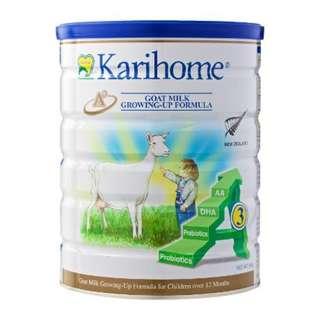 Karihome Growing Up Goat Milk Stage 3 Formula