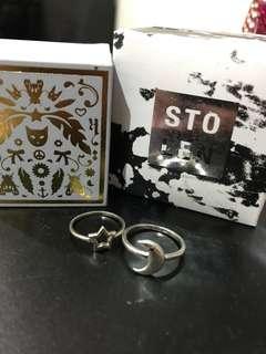 Moon & Star Ring (stolen girlfriend & karen walker)