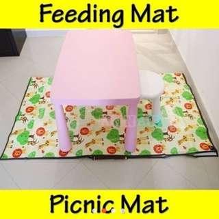 Picnic mat baby weaning mat