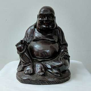 Wooden buddha (80years min)