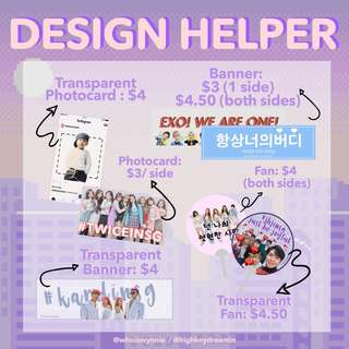 Fansupport / Fanproject / Fanpack Design Helper!