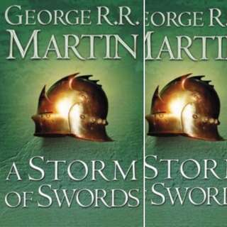 A Storm of Swords (A Song of Ice and Fire #3) by George R.R. Martin