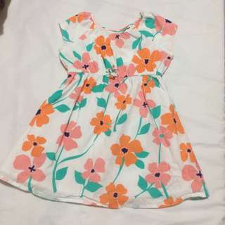 Falls and Creek Floral Dress
