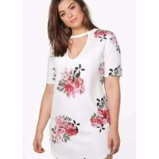 Chocker LongBlouse / Mini Dress