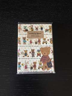 韓國熊仔memo紙