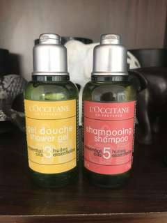 L'Occitane Shampoo & Shower Gel