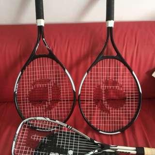 3 rackets-
