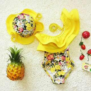 Cute Floral Summer Swimwear Outfit