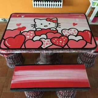 New design meja batu