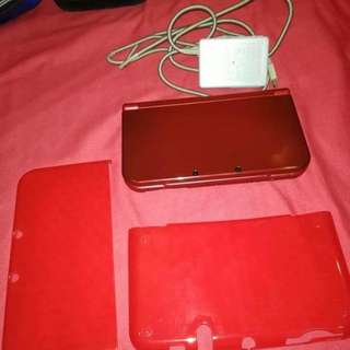 N3ds xl red