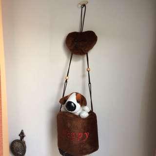 Cute Dog Tissue Roll Cover