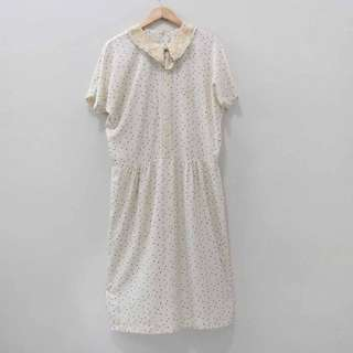 AT243 SIZE XL+ JUMBO MAXI DRESS BUTIK FASHION IMPORT WANITA MURAH CANT
