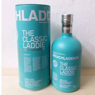 Bruichladdich The Classic laddie unpeated Single Malt布萊迪蘇格蘭大麥單一純麥(無泥煤)